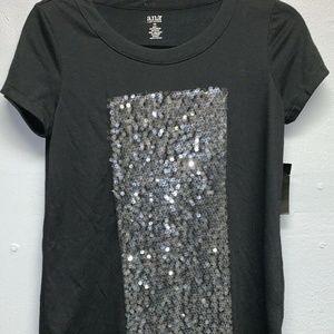 Women's Blouse Size- XSmall Express Black